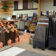 Come visit Abbey Carpet Gallery's showroom in Davenport to see our selection of hardwood!