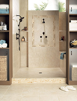 Add luxury to your home with a custom shower.