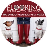 Flooring For The Way You Live Today - Waterproof | Kid Proof | Pet Proof