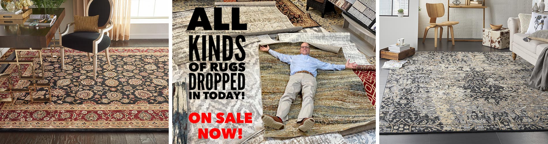 Huge savings on Area Rugs on sale at Abbey Carpet Gallery in Davenport, IA